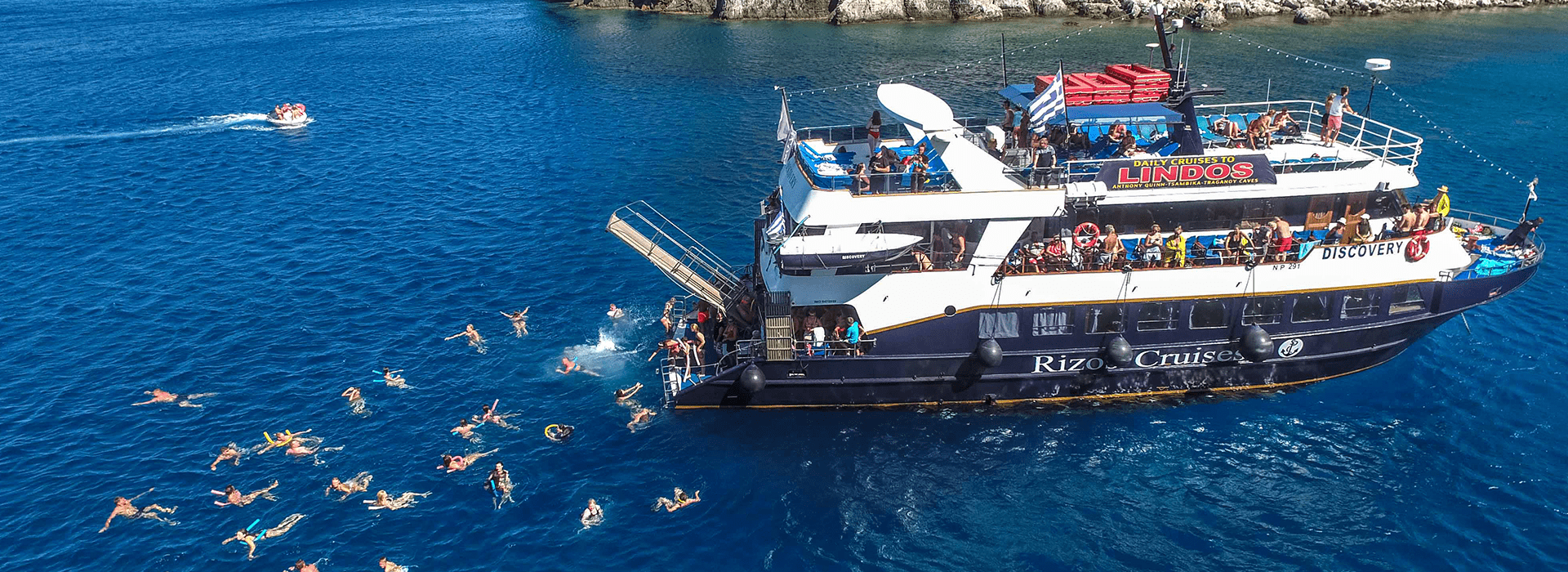 Rhodes sailing cruises